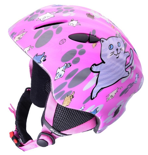 kask narciarski dla dziewczynki