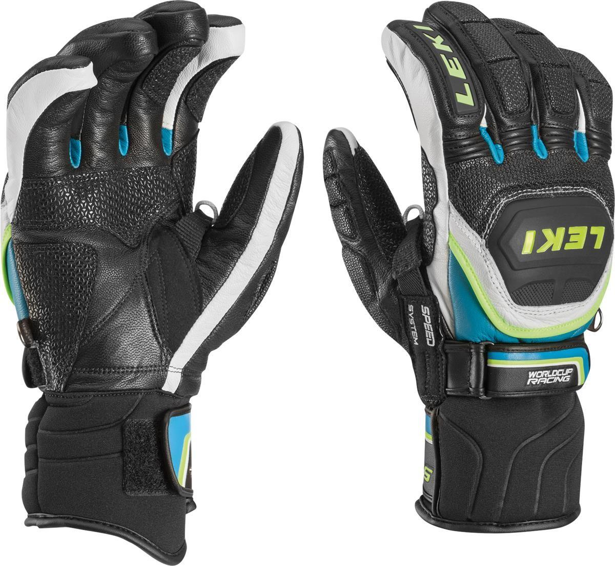 Zawodnicze rękawice narciarskie z ochraniaczami Leki WCR Flex
