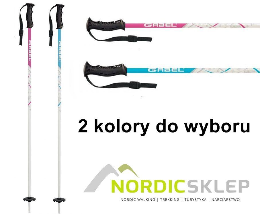 Kije narciarskie dla dzieci.