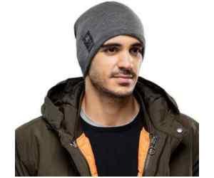 BUFF® Czapka Zimowa Knitted & Fleece Hat Solid GREY