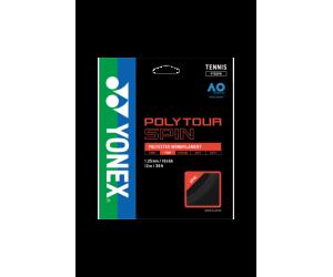 Naciąg tenis Yonex Poly Tour SPIN 125 Czarny