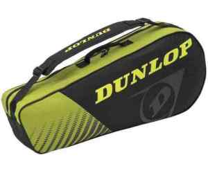 Torba Dunlop Club 3 Racket Bag Black / Yellow