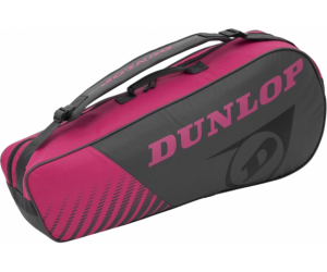 Torba Dunlop Club 3 Racket Bag Gray / Pink