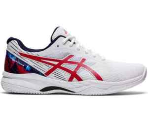 Buty Asics Gel-Game 8 CLAY/OC L.E. White / Classic Red