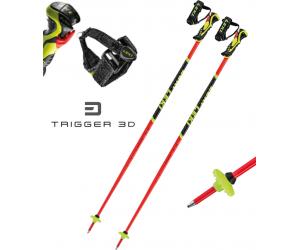Kije narciarskie Leki WCR LITE SL 3D Red