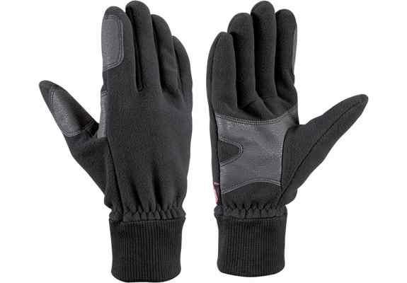 Rękawice narciarskie Leki Windstopper Fleece black
