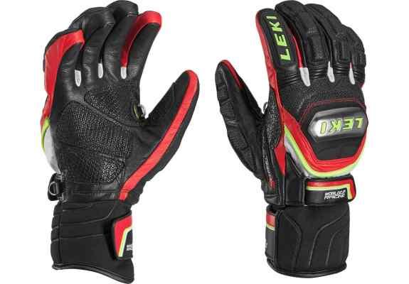Rękawice narciarskie LEKI WCR Titanium S red