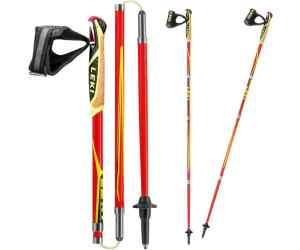 Kijki do nordic walking Leki Micro Trail Pro red