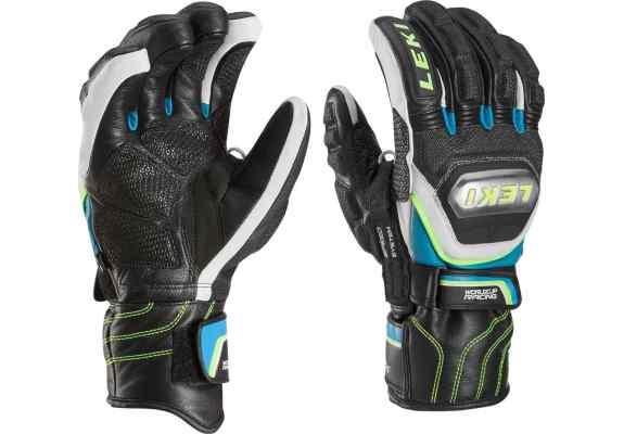Rękawice LEKI WCR Tit S Speed System blue