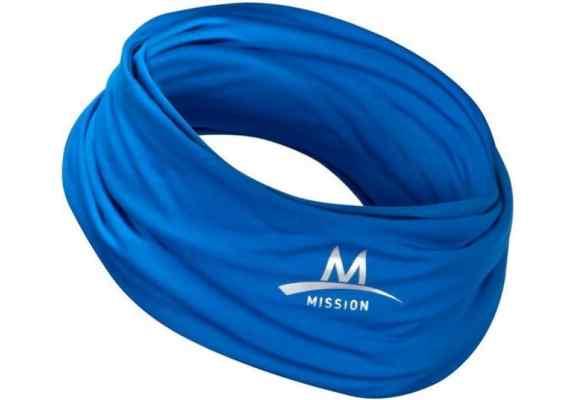 Chusta Mission Multi Cool niebieska 108033IN-BLUE