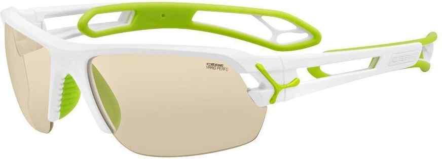 Okulary przeciwsłoneczne Cat. 3 Grace Shiny White Brown Gold