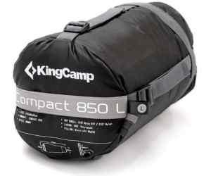 Śpiwór King Camp Compact 850L szary