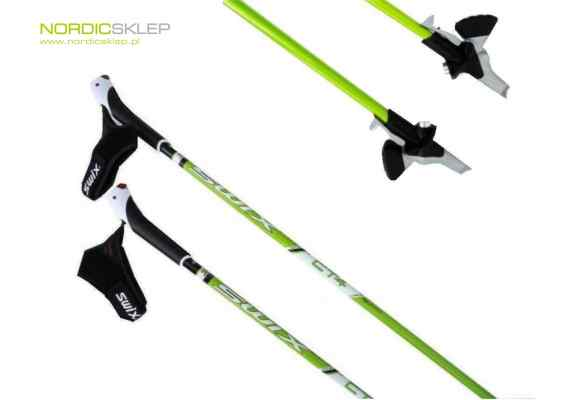 Kije nordic walking Swix NW400 - CT4 Twist&Go