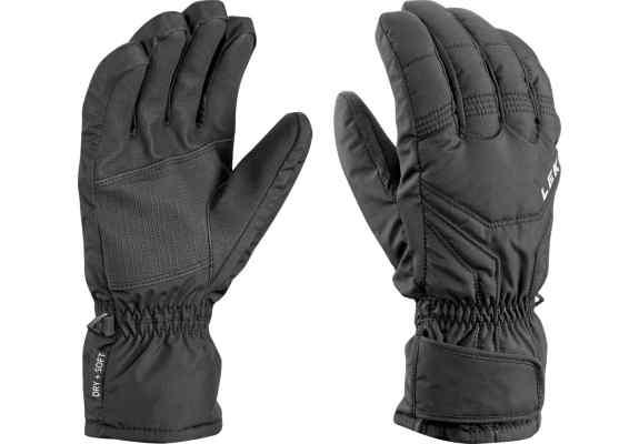 Rękawice narciarskie Leki Tux Black
