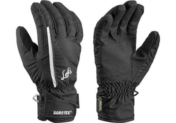 Rękawice narciarskie Leki Alpe GTX Lady black-white