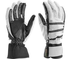 Rękawice narciarskie damskie Leki Core S GTX Lady black-white