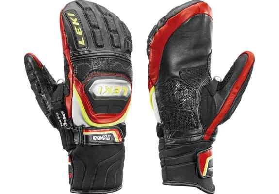 Rękawice narciarskie LEKI WCR Tit S Mitten Speed System red