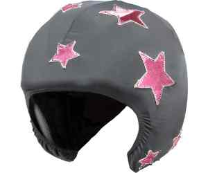 HELMET COVER GREY STARS