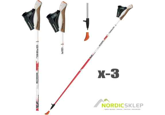 kije nordic walking ganel x-3