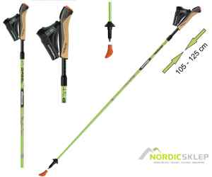 GABEL EVO ALU CARBON 105-125 kije nordic walking