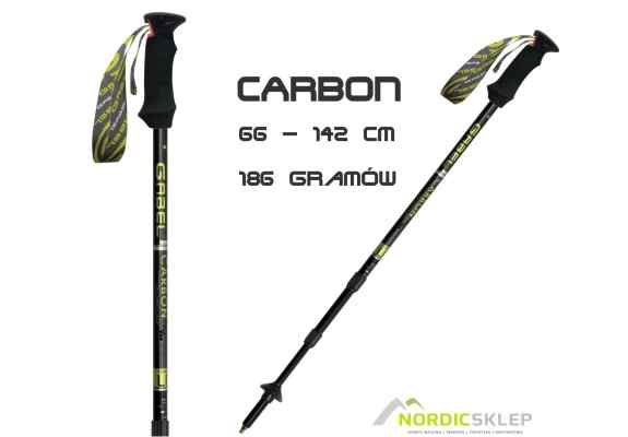 kije trekkingowe carbonowe gabel carbon lite