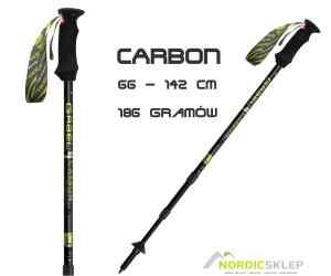 GABEL CARBON LITE 66-142cm kije trekkingowe