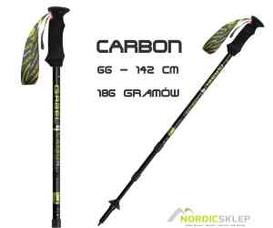 Kije do trekkingu Gabel Carbon Lite 66-142cm