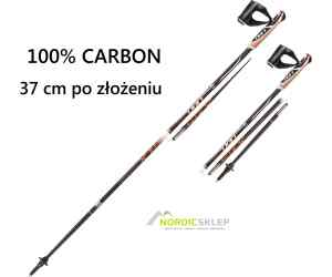 Kijki nordic walking Leki Trailstick black