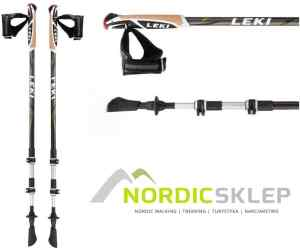 Kije nordic walking Leki Traveller Alu