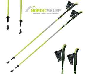 Kije nordic walking Gabel NCS Fluo