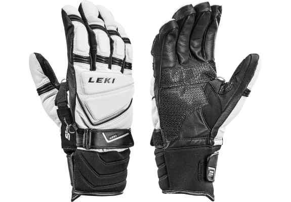 Rękawice LEKI Griffin Pro S Speed System white