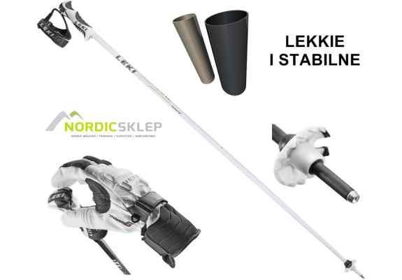 Kije narciarskie Leki Fine S White