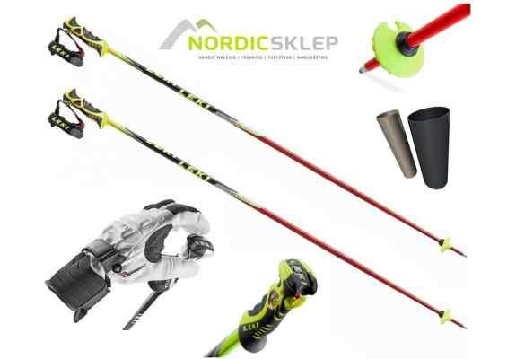 Kije narciarskie Leki WCR SL TBS 115