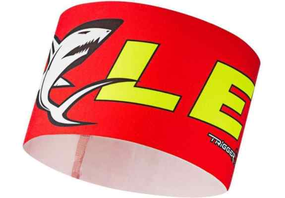 Opaska LEKI Race Shark Headband red S/M