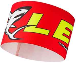 Opaska LEKI Race Shark Headband red S/M