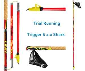 Kijki nordic walking Leki Micro Trail Pro red