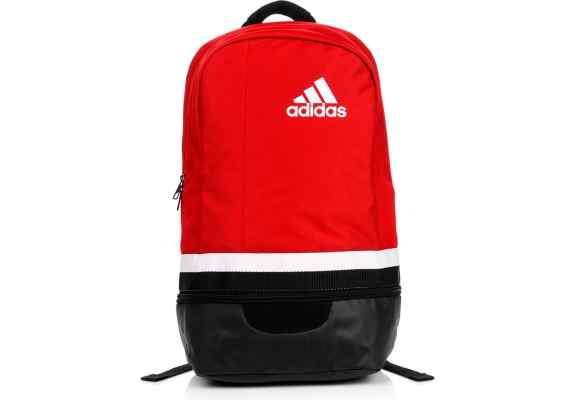 PLECAK ADIDAS TIRO S13311 czerwono - czarny, białe logo