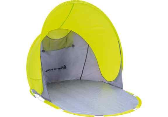 Namiot plażowy Meteor Capri L zielony/szary
