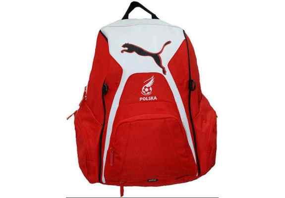 Plecak Puma Polska biało-czerwony