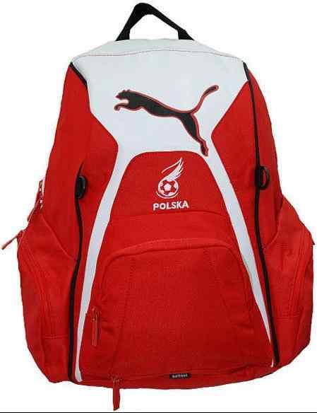 Plecak Puma Polska biało czerwony