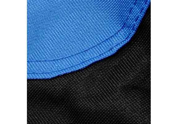FOTEL MOON KING CAMP niebieski
