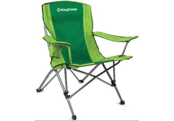 Fotel King Camp Compact stalowy zielony