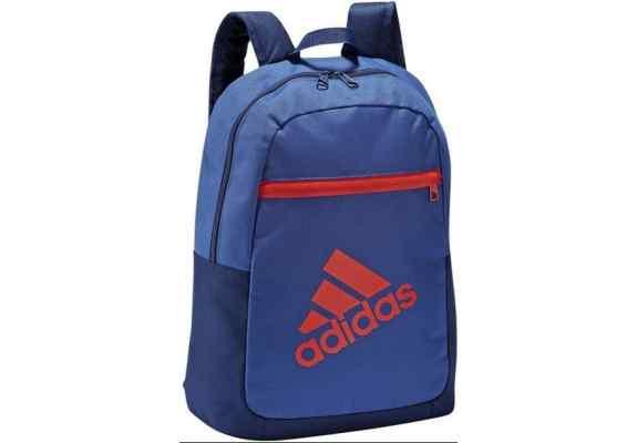 Plecak ADIDAS BP GRAPHIC LOGO G68771 niebiesko-granatowy czerwone logo