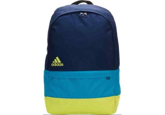 Plecak Adidas VERSATILE BLOCK F49832 gratowo-niebiesko-zielony