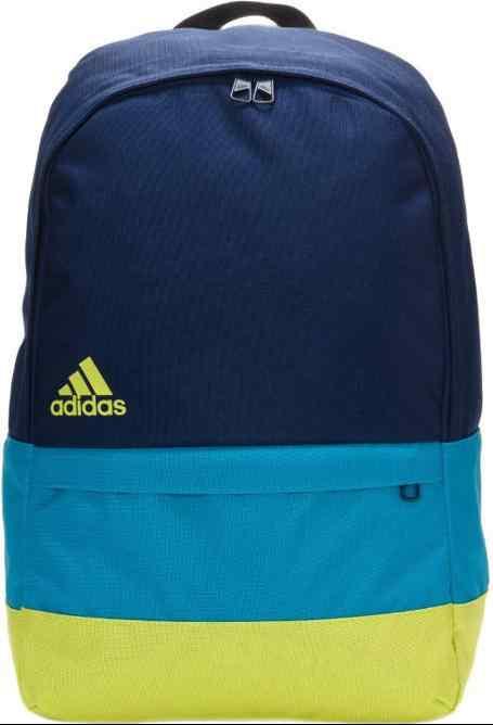 bdc1b244e0376 Plecak Adidas VERSATILE BLOCK F49832 gratowo-niebiesko-zielony