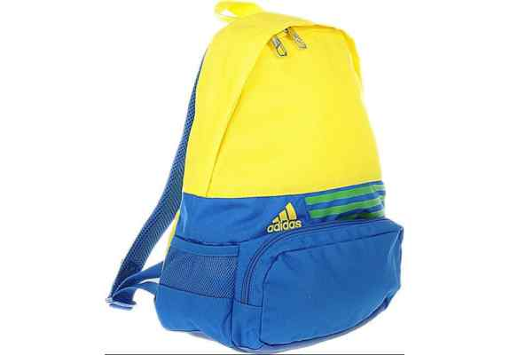 Plecak ADIDAS DER BP XS 3S F49890 niebiesko-żółty