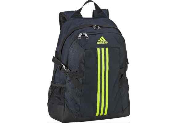 Plecak Adidas BP POWER II F49839 granatowy, żólte logo, z komorą na laptop ...
