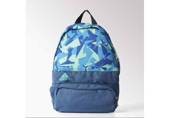 Plecak ADIDAS DER Extra Small S23096 niebiesko fioletowo zielony