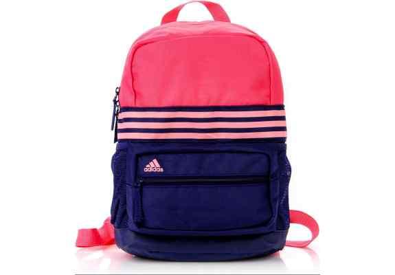 Plecak ADIDAS XS AB1783 granatowy - malinowy z różowym logo
