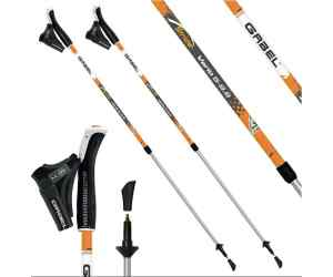 Kije nordic walking Gabel Stride Vario Orange